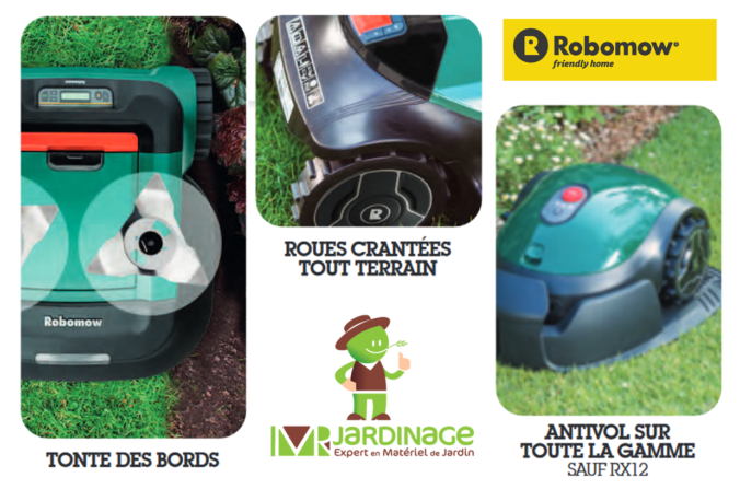 acheter robot tondeuse