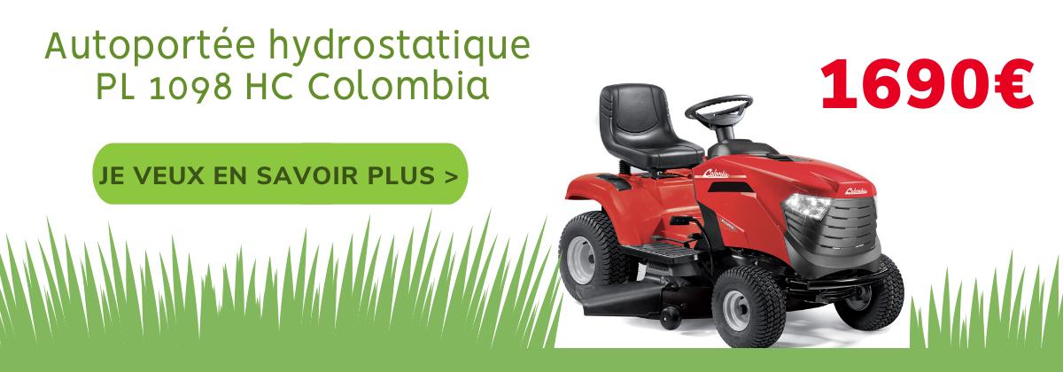 Autoportée hydrostatique PL 1098 HC Colombia